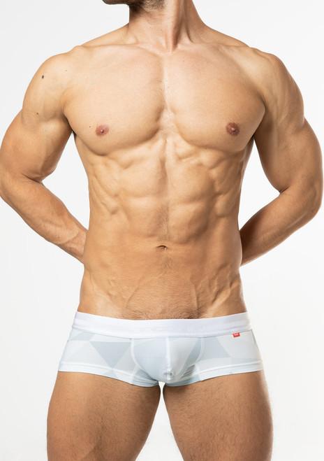TOOT Underwear Big Polygon Super Nano Trunk White (SN28I359-White)