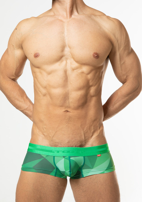 TOOT Underwear Big Polygon Super Nano Trunk Green (SN28I359-Green)