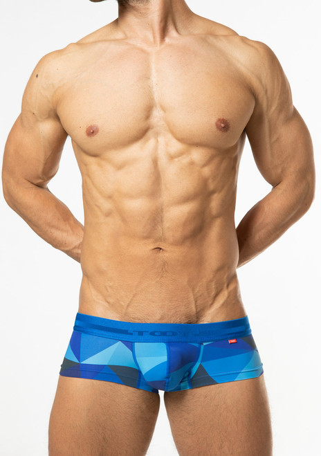 TOOT Underwear Big Polygon Super Nano Trunk Blue (SN28I359-Blue)