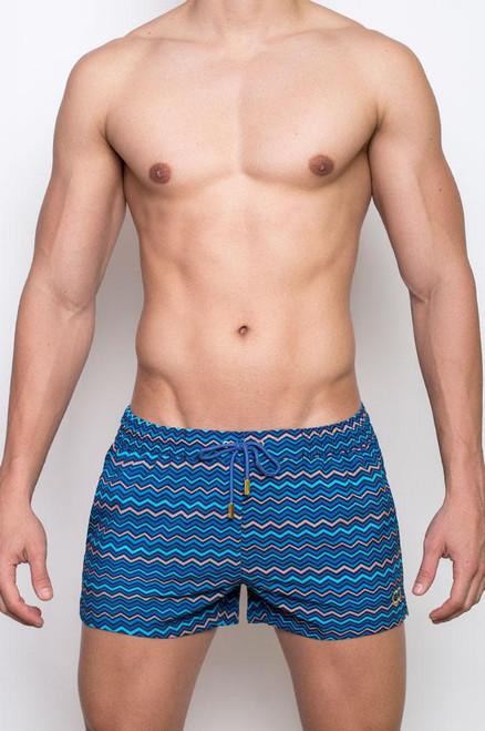 2EROS Swimwear Chevy Swimwear Ocean Shorts (S5036OC)