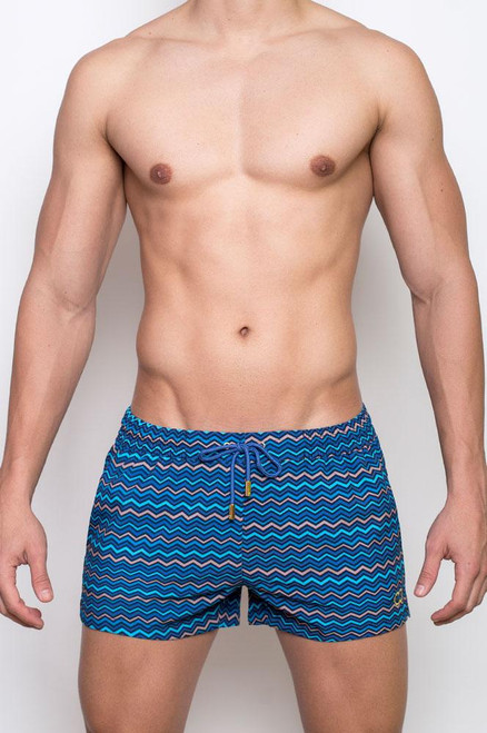 2EROS Swimwear Chevy Swimwear Ocean Shorts (S5036OC)