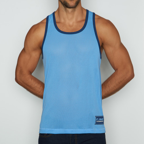 C-IN2 Scrimmage Athletic Tank Baby Blue (6806-412a)