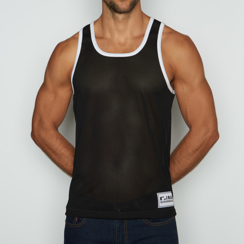 C-IN2 Scrimmage Athletic Tank Jet Black (6806-002a)
