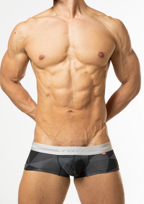 TOOT Underwear Big Polygon Super Nano Trunk Black (SN28I359-Black)