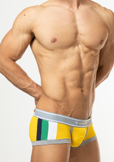 TOOT Underwear Tricolor Nano Trunk Yellow (NB62I296-Yellow)