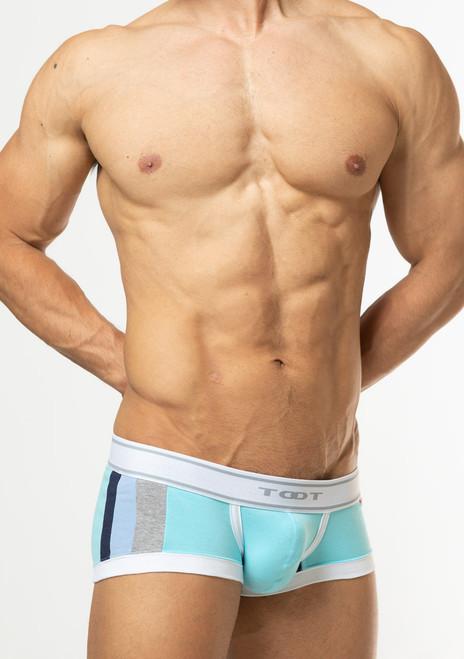 TOOT Underwear Tricolor Nano Trunk Aqua (NB62I296-Aqua)