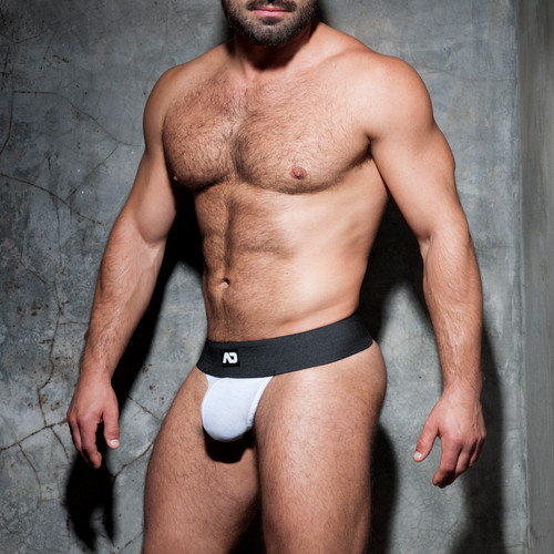 Addicted Underwear Fetish Kango Strapless Jock White