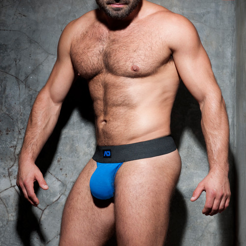 Addicted Underwear Fetish Kango Strapless Jock Blue (ADF105-16)