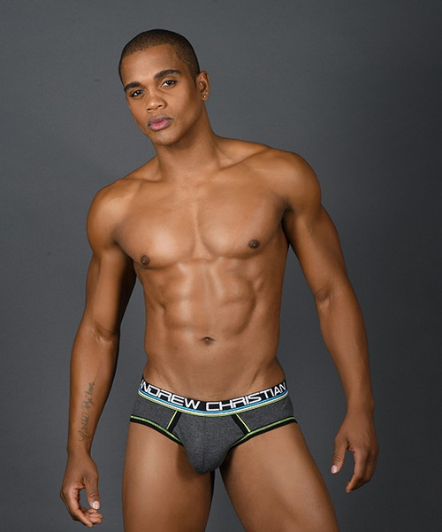 Andrew Christian Underwear CoolFlex Modal Active Brief (91118-CHA)