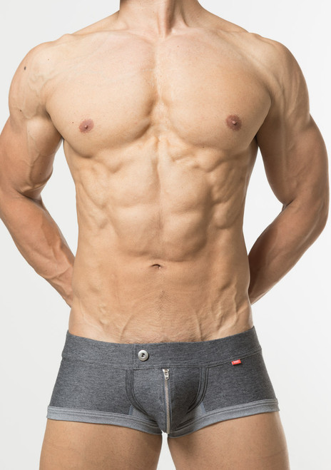 TOOT Underwear Denim Jersey Nano Trunk Gray (NB64I298-Gray)