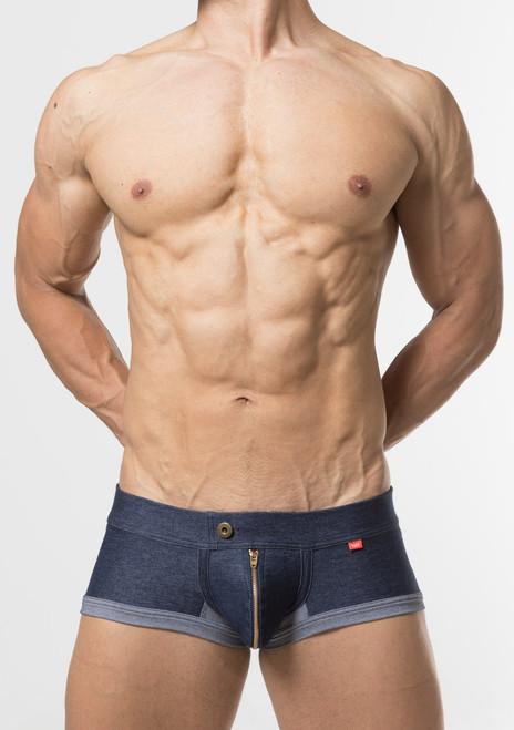 TOOT Underwear Denim Jersey Nano Trunk Indigo (NB64I298-Indigo)