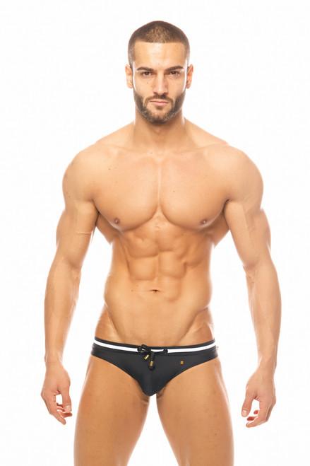 Marcuse Swimwear Volie Swimbrief Black (Marcuse-Volie-Swimwear-Neon-Black)