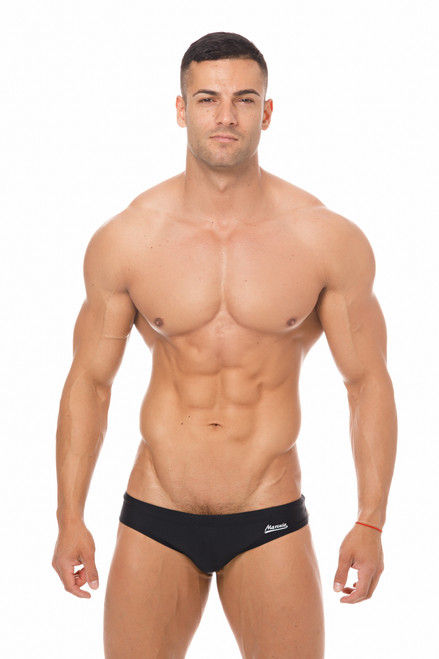Marcuse Swimwear Risqué Swimbrief Black (Marcuse-Risqué -Swimwear-Black)