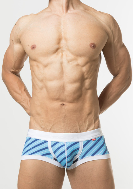 TOOT Underwear British Regiment Stripe Nano Trunk Saxe (NB66I345-Saxe)