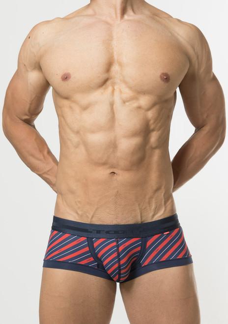TOOT Underwear British Regiment Stripe Nano Trunk Navy (NB66I345-Navy)