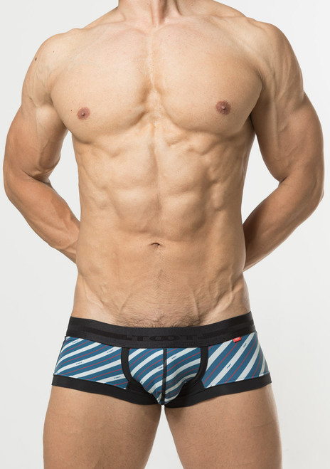 TOOT Underwear British Regiment Stripe Nano Trunk Black (NB66I345-Black)