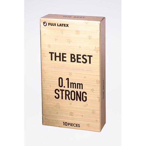 Fuji Latex THE BEST 0.1mm 10-Pack Condoms (Made in Japan) (4902510106578)