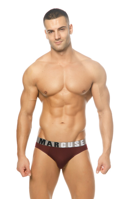 Marcuse Underwear Active Brief Burgundy (Marcuse-Active-Brief-Burgundy)