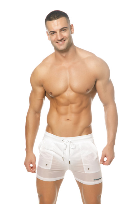 Marcuse Beachwear Babylon Shorts White (Marcuse-Babylon-Beachorts-White)