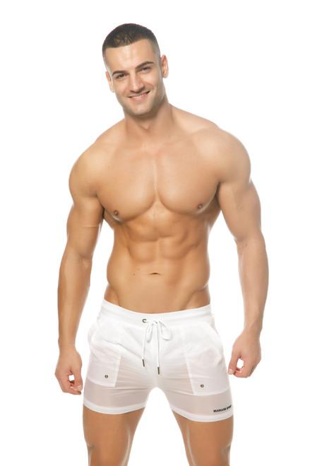 Marcuse Beachwear Babylon Shorts White (Marcuse-Babylon-Beachorts-White)