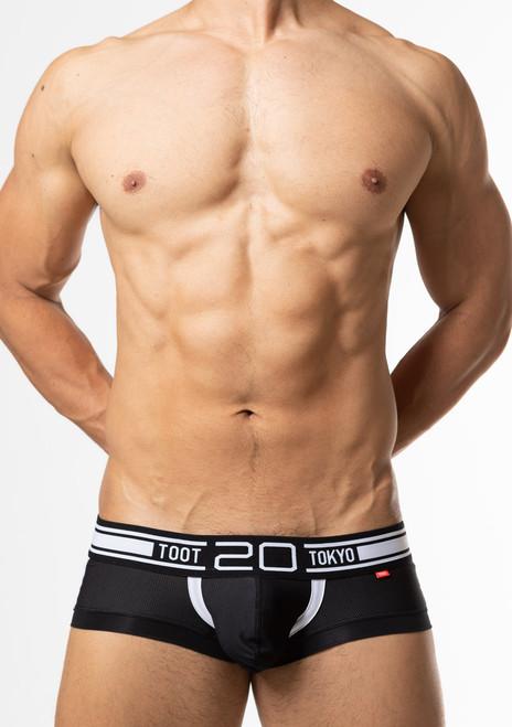 TOOT Underwear 20th Super Nano Trunk Black (SN33J352-Black)