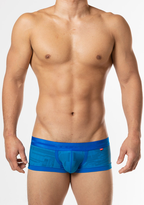 TOOT Underwear Circuit Board Nano Trunk Blue (NB52J346-Blue)