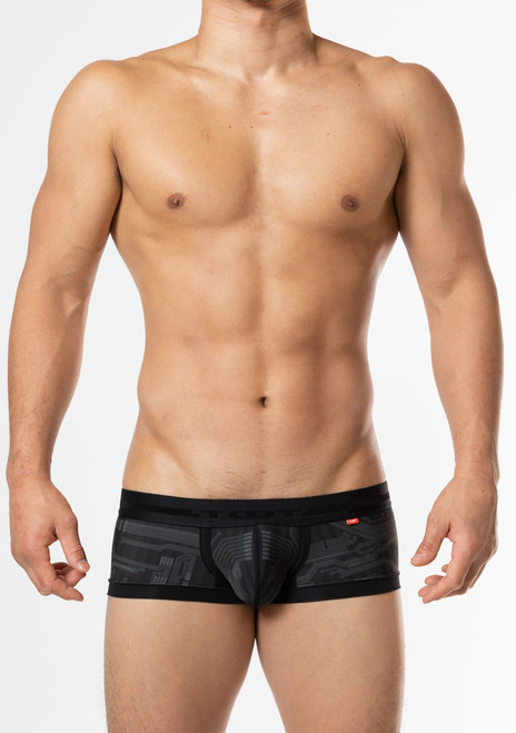 TOOT Underwear Circuit Board Nano Trunk Black (NB52J346-Black)
