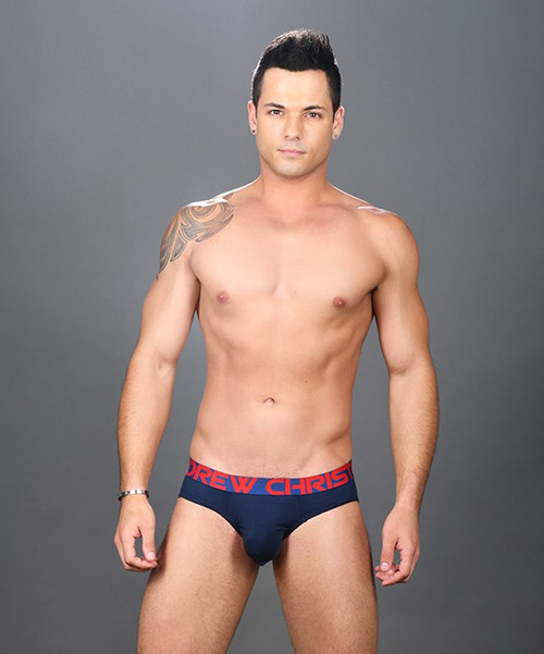 Andrew Christian Underwear Almost Naked Premium Brief (91394-NVY)
