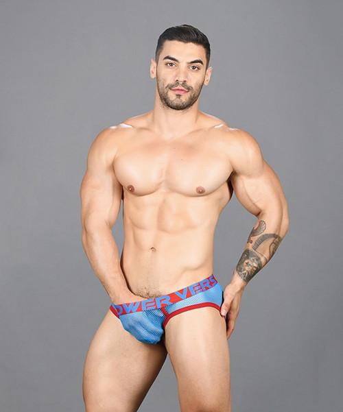 Andrew Christian Underwear Power Vers Mesh Brief (91458-ELECT)