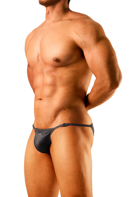 GX3 Underwear UPGRADE Hook String Bikini Black (K920-Black)