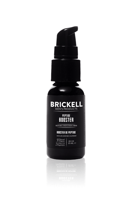 Brickell Men's Products Protein Peptides Booster for Men (.85 oz)