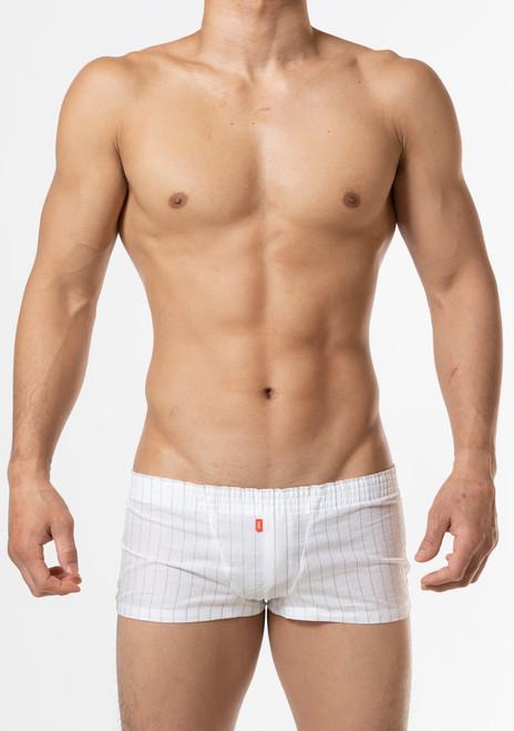 TOOT Underwear Linen Stripe Fit Boxer (HT02J201-White)