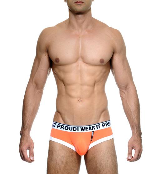 STUD Underwear Cypher Brief Neon Orange (U1066BLB08)