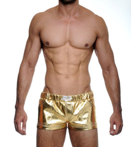 STUD Metallica Shorts Gold (RW1058BS22)