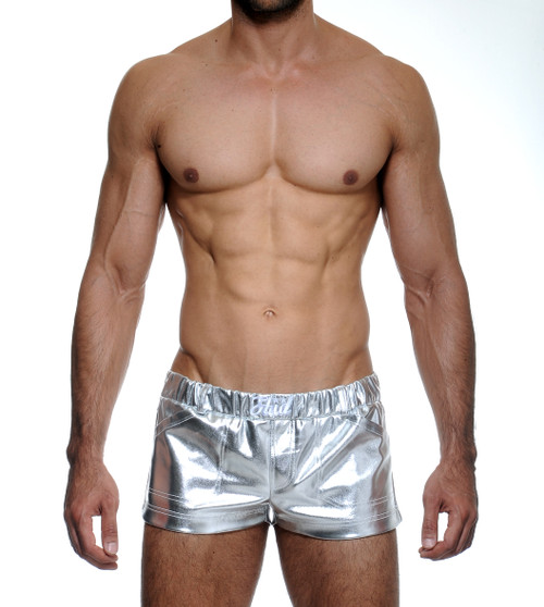 STUD Metallica Shorts Silver (RW1059BS21)