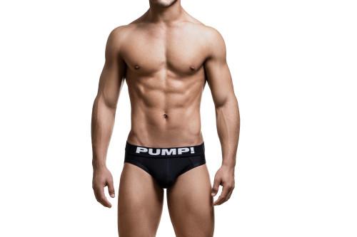 PUMP! Underwear Black Classic Brief