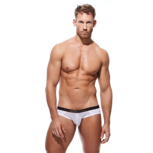 Gregg Homme Underwear 2XPOSE Jock Brief White (180103-White)