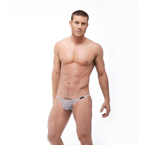 Gregg Homme Underwear Torridz Thong Silver (87404-Silver)