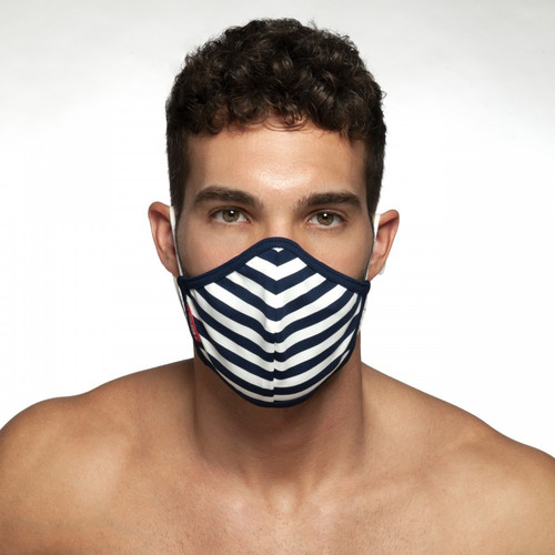 ES Collection AC103 Sailor Face Mask Navy (Filtration efficiency BFE > 80%) (AC103-09)