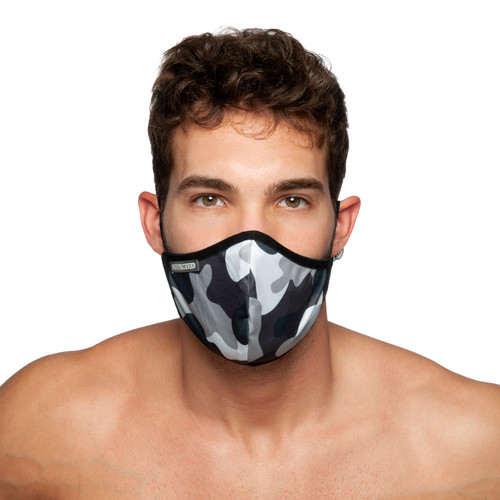 Addicted AC807 Camo Face Mask (Filtration Efficiency BFE > 80%) (AC087-17MO)