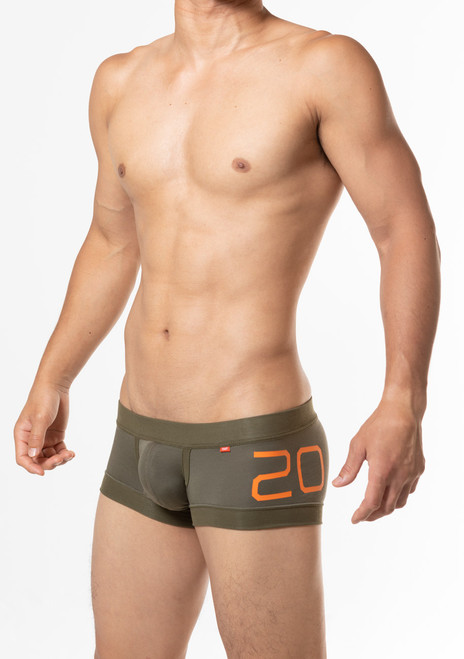 TOOT Underwear 20th Lyocell Trunk Olive (CB33J368-Olive)