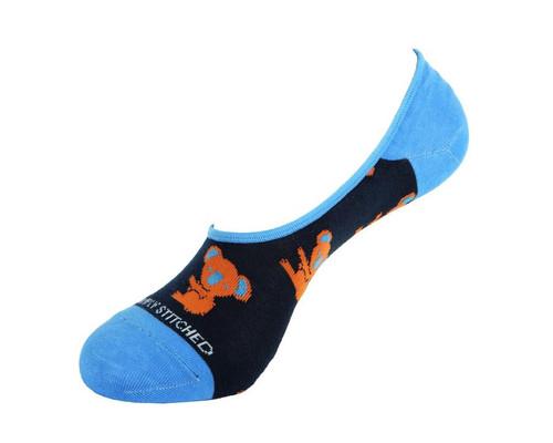Unsimply Stitched Men's Ankle Socks Koala
