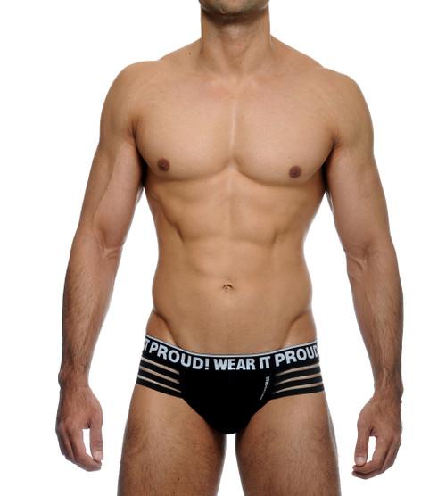 STUD Underwear Pitch Brief Black (U1094LB01)
