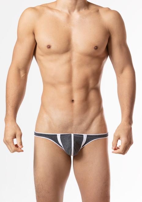 "TOOT Underwear ""18"" Bikini Brief Charcoal (CV54K226-Charcoal)"