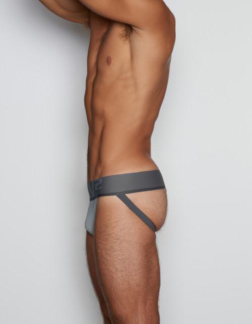 C-IN2 Underwear - C-Theory Jock Strap Justin Grey (8025-057)