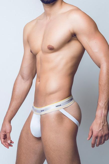 2EROS Underwear Adonis Jockstrap White (U9152WH)