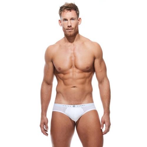 Gregg Homme Underwear Push Up 4.0 Brief White (182403-White)