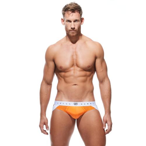 Gregg Homme Underwear Push Up 4.0 Jock Orange (180434-Orange)