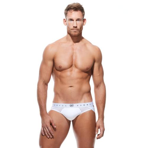 Gregg Homme Underwear Push Up 4.0 Jock White
