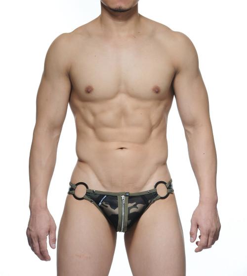 STUD Underwear Garrick Jock Brief Camo Army Green (U1132LB18)